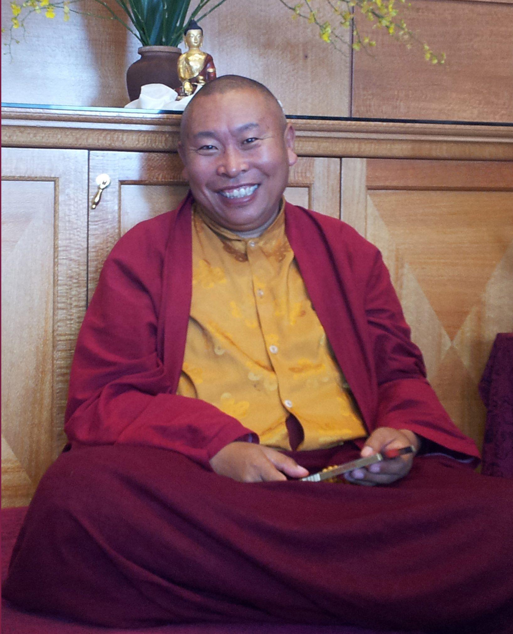 Gebchak Wangdrak Rinpoche